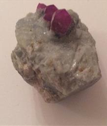 Ruby Crystals Gigdatik Afganistan sourced by fossils4sale Stone Treasures