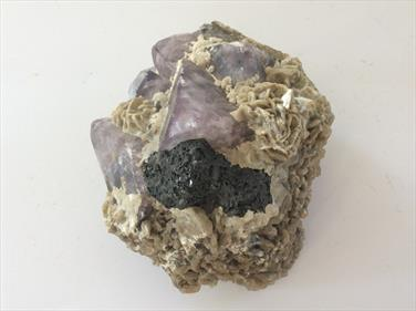 Fluorite West Vein, Weardale Co. Durham UK 9cm x 8cm 663gms Phosphorescent Stone Treasures Fossils4sale